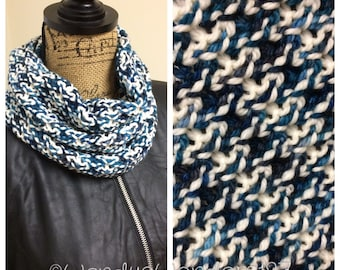 Neck Warmer, Cowl Scarf, Cowl, Merino/Cashmere Cowl, Knit Cowl, Knit Scarf