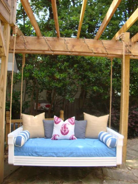 Custom Built Twin Size Indoor Outdoor Porch Daybed Swing Bed