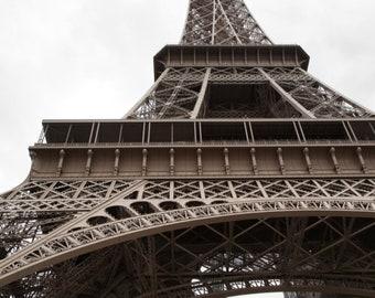 Paris photography, Eiffel Tower, Paris Eiffel Tower, Paris in color, Eiffel Tower detail, French wall art, Paris decor, fine art print