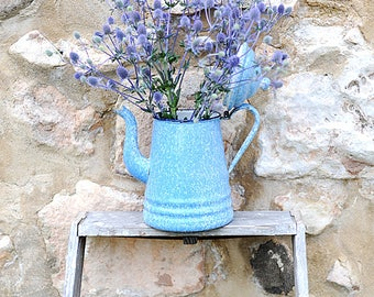 French Enamelware Coffee Pot