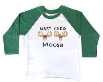 Christmas Shirt, Toddler Kids Christmas Shirt, Raglan Shirt, Kids Holiday Shirt, Funny Christmas Shirt, Max and Mae, maxandmaekids