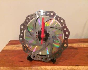 Brake Disc Rotor Clock with blank CD