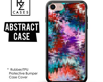 Abstract Phone Case, Geometric Case, Geometric Phone Case, iphone 7 Case, iPhone 7 plus, iPhone 6s, iPhone 5, Rubber, Bumper Case