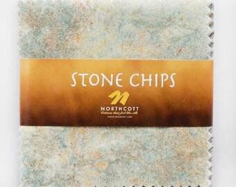 Northcott Stone Chips 5 x 5 charm pack - Cstone-11