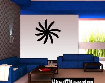 Snowflakes Vinyl Wall Decal Or Car Sticker - Mv022ET