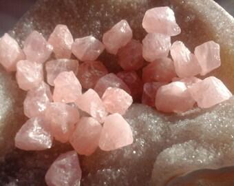 Rose quartz raw - De 12,01 at 15.00 gr, Crystal healing