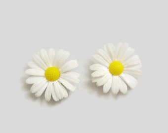 Set of Two Decorative Magnets - Flower Power