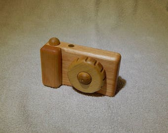 Personalized toy Wood camera Kids Toy Camera Wooden toy Waldorf wood toy Сamera Gift for Kids