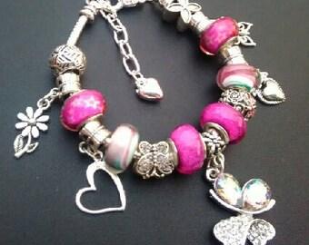 Handmade European Charm Bracelet