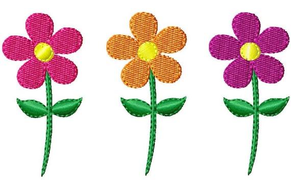 Daisy Embroidery Design Flower Mini Embroidery Design