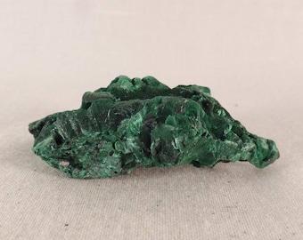 Congo Silky Malachite Natural Specimen - 54mm, 33g