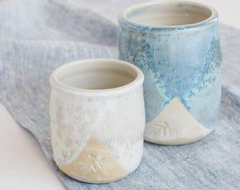 Ceramic kitchen utensil / cutlery holders, ceramic jars, kitchen accessories, kitchen decor