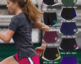 Embroidered Monogram Cadence Shorts, Monogram Shorts, Embroidered Shorts, Monogram, Shorts