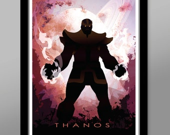 Thanos/Graphiti Style Poster - Poster 256 - Home Decor