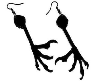 Crow Claw Earrings