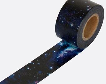 Cosmic Galaxy Washi Tape - 'Cosmic' by Masté Masking Tape Japan
