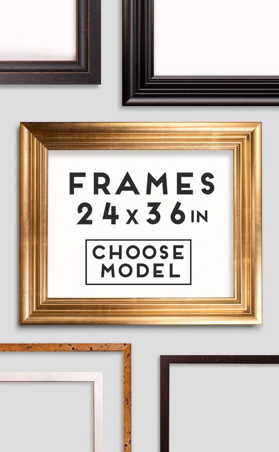 Frames for Prints - 9 models - Choose your frame - Size 24 x 36 ...