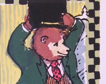Bear With Bearskin by Barbara Fernekes Hughes