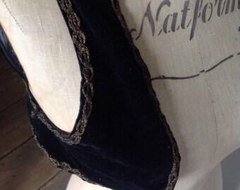 Vintage velvet bolero size 8