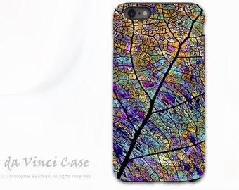 Aspen Leaf iPhone 6 Plus / 6s Plus Case - Colorful Abstract iPhone Case - Stained Aspen - Fall Leaf iPhone 6s Plus Case by Da Vinci Case