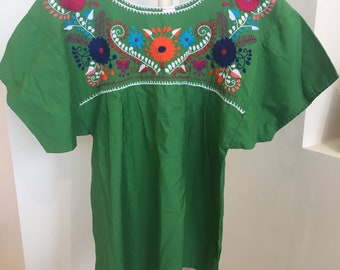 Vintage Embroidered Mexican Top
