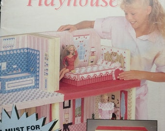 Plastic Canvas Fashion Doll Playhouse Pattern Book