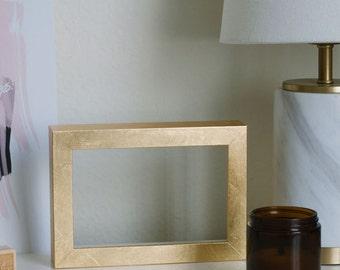 DIY Gold Leaf Frame