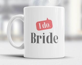 Bride  Gift, Bride Mug, Bachelorette Party, Bride To be, Alternative Bride Glass, Bachelorette Party Gift, Wedding Idea, Keep Calm Bride Mug
