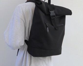 Slimline Backpack Black