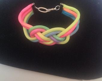 Gay Pride Knot Bracelet