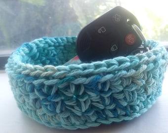 Nesting Bowls, Catchall Bowls, Crochet bowl, Storage Bowls, Bowl, Gift Basket, Basket,