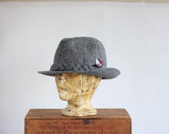 Stetson classic Harris Tweed wool hat fedora brown classic timeless design