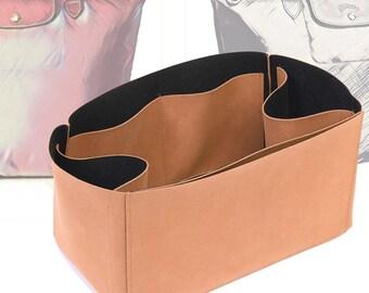 Regular Style Nubuck Leather Handbag Organizer for Le Pliage Model Bags