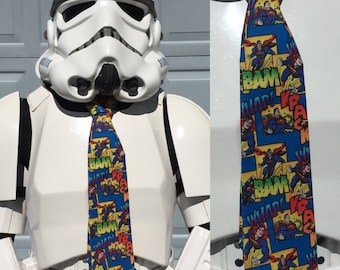 Superman Novelty Necktie DC Comics Man of Steel Tie