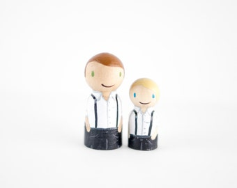 ADD ON a Child to your Custom Wedding Cake Topper