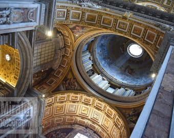 St. Peter's Basilica, Vatican City Rome Photography