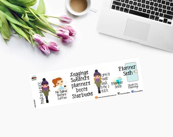PROUD to BE BASIC Planner Stickers  CAM00269