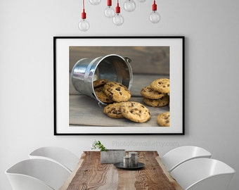 French cookies photography, food photography, kitchen large wall art,brown kitchen decor, cottage chic decor,Personalized home decor