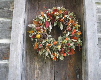 DESIGNERS CHOICE WREATH  autumn  decoration