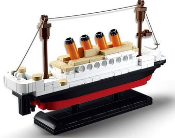 Titanic Ship - Brick Set