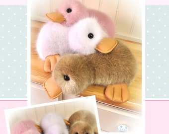 Fluffy Duck Sewing Pattern - MAILED Posted Version