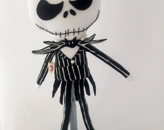 Jack Skellington-Doll-Nightmare Before Christmas- Collectible- Free Domestic Shipping