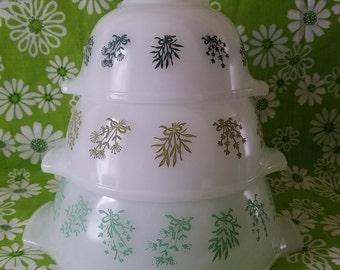 Glasbake Mixing bowls