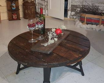 Awesome Wire Spool Coffee Table