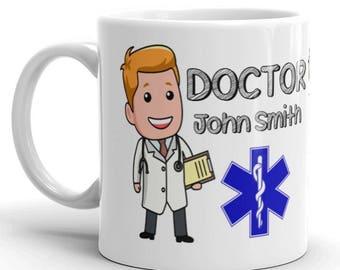 Personalised Doctor Gift Mug
