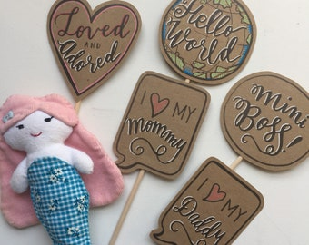 Newborn Photo Prop Set - 5 Pieces - POSECARDS™