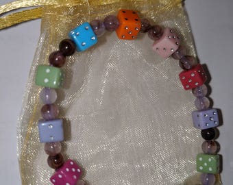 Roll the Dice Sparkle Bracelet