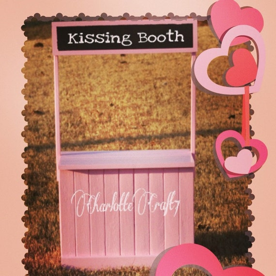 Any Color Kissing Booth Photography Prop