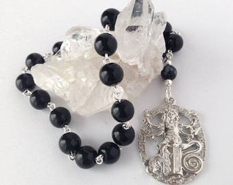 Hecate Pocket Prayer Beads // Pagan // Wiccan
