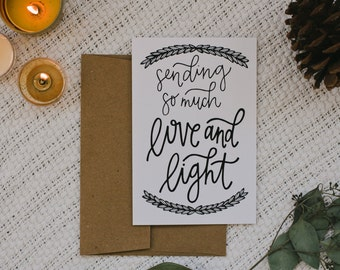 "Empathy 4""x6"" Greeting Card - Love and Light"